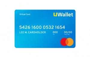ماستركارد الذهبية الإلكترونية Virtual Gold MasterCard من UWallet